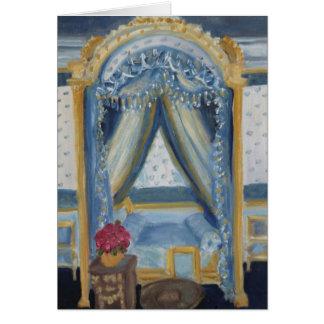 Roses for Josephine: Fontainebleau Chateau Card