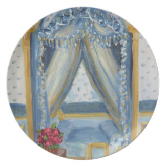 Roses for Josephine: Fontainebleau Chateau Plate