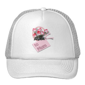Roses For Mum on Mother's Day (Add Any Color) Mesh Hats