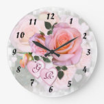 Roses for my Love ~ Clock