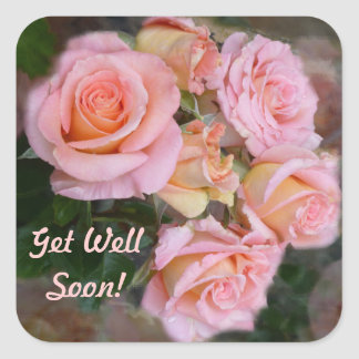 Roses for my Love ~ Get Well Stickers