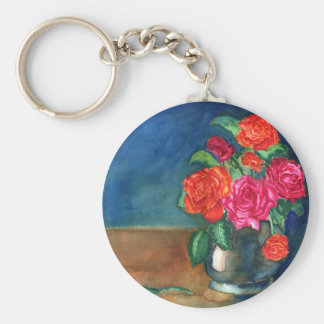 Roses for My Love Keychain