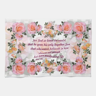 Roses for my Love ~ Kitchen Towel # 3