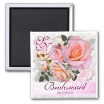 Roses for my Love ~ Wedding Favor Magnet