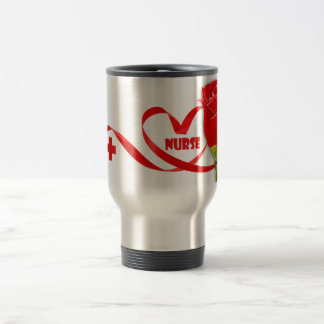 Roses for Nurse . Gift Coffee Mug