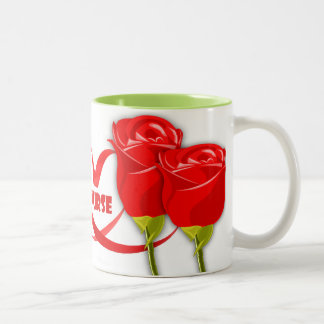 Roses for Nurse . Gift Coffee Mug