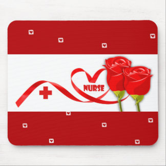 Roses for Nurse. Gift Mousepads