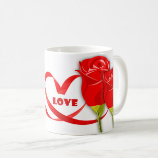 Roses for Nurse. Red Rose Gift Mugs