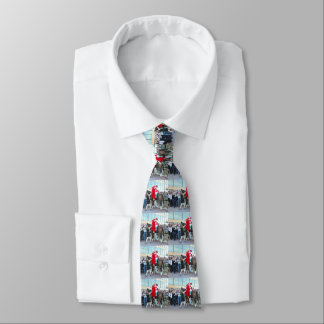 Roses for Songbird Tie