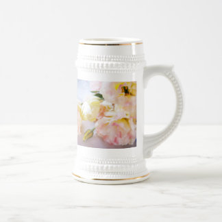 Roses for You Beer Stein