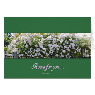 Roses For You Card
