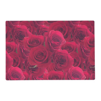 Roses for you placemat