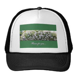"""""""Roses for You"""" Trucker Hat"""