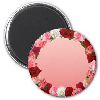 Roses Frame Magnet
