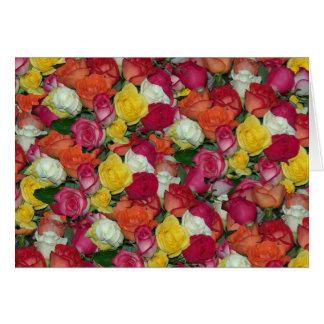 roses galore card