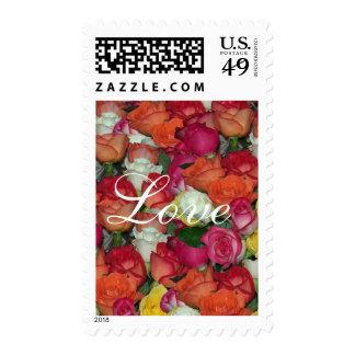 roses galore  Love stamp