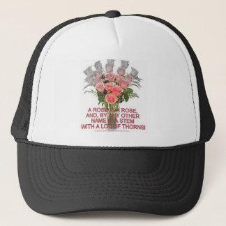 ROSES GALORE TRUCKER HAT