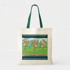 Roses Garden Grocery Bag
