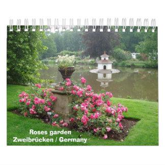 Roses garden Zweibrücken / Germany Calendar