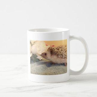 Roses hedgehog mug