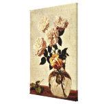Roses, Henri Fantin-Latour artwork Canvas Print
