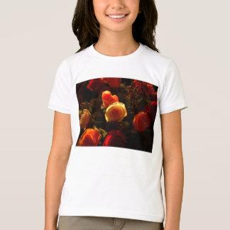 Roses I - Orange, Red and Gold Glory T-Shirt