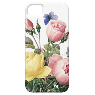 Roses illustrated by Redoute iPhone SE/5/5s Case