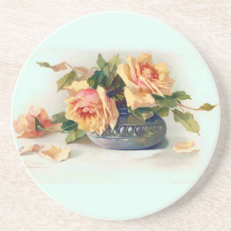 Roses in a Bowl Coaster