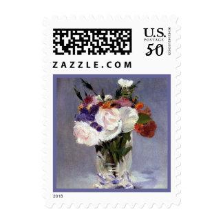 Roses in a Crystal Vase Postage