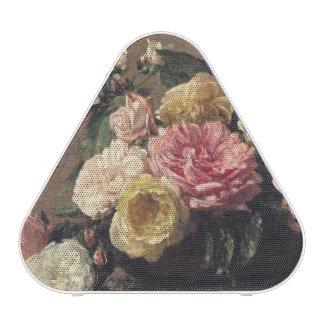 Roses in a Dish, 1882 Speaker