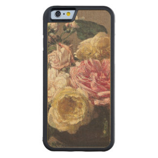 Roses in a Dish, 1882 Carved® Maple iPhone 6 Bumper