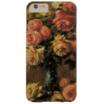 Roses in a Vase by Renoir, Vintage Impressionism Barely There iPhone 6 Plus Case