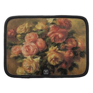 Roses in a Vase by Renoir, Vintage Impressionism Organizers
