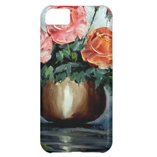 Roses in a Vase Cover For iPhone 5C
