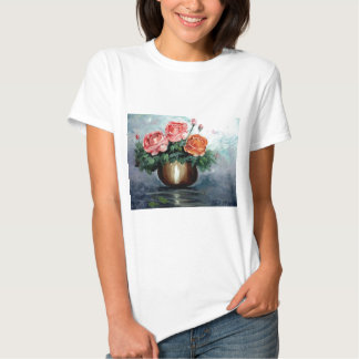 Roses in a Vase Tee Shirt