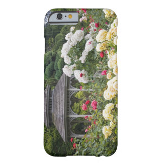 Roses in bloom and Gazebo Rose Garden at the Barely There iPhone 6 Case