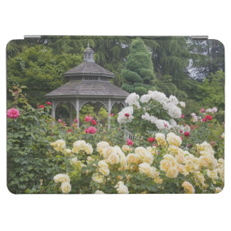 Roses in bloom and Gazebo Rose Garden at the iPad Air Cover