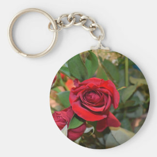 roses in bouquet keychains