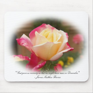 Roses in December Mouse Pad