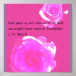 Roses in December Poster
