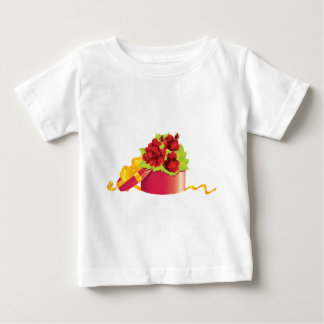 Roses in gift box baby T-Shirt