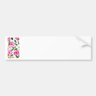 Roses in Pink (Kimberly Turnbull Art) Bumper Sticker