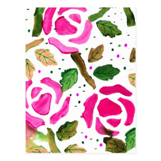 Roses in Pink (Kimberly Turnbull Art) Postcard