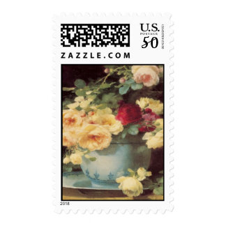 Roses In Porcelain Bowl Emilie Vouga Mother's Day Postage