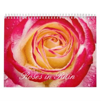 Roses in Rain Calendar