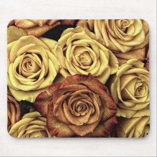 Roses in Sepia Tone Mouse Pad