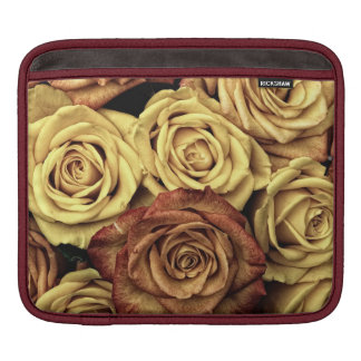Roses in Sepia Tone Sleeves For iPads