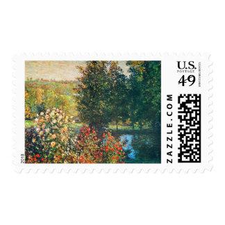 Roses in the Hoshede s Garden at Montregon Postage Stamps