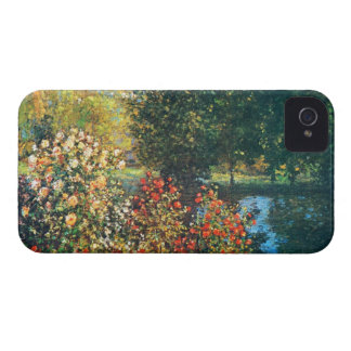 Roses in the Hoshede's Garden at Montregon iPhone 4 Case-Mate Case