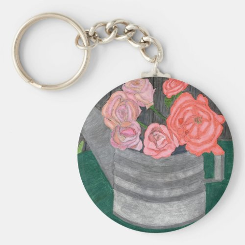 Roses In The Watering Can